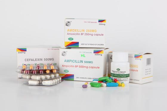 China Ampicillin Capsules 250MG 500MG BP/USP-Penicillinegeneesmiddelen verdeler